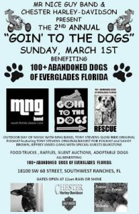 Goin To The Dogs Flyer - Jan