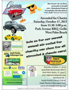 Aircooled For Charity Flyer