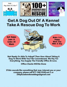 Take our rescue to work