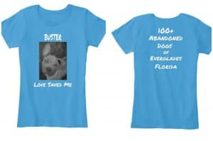 Buster tshirt Collage