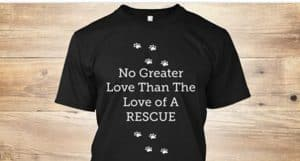 No greater love than the love of a rescue