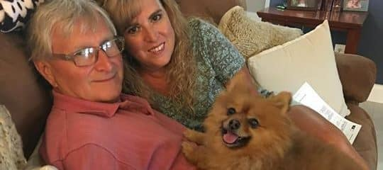 Our Sweet Taz had Found his Forever loving home!