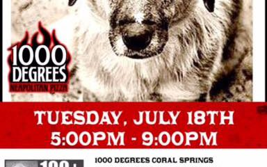 Pizza for the pups… July 18th.