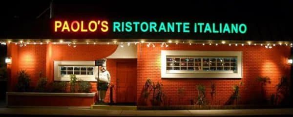 Thank you to Paolos 3's Company in Dania.