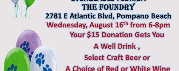 Tonight 6-8pm Fundraiser at the FOUNDRY