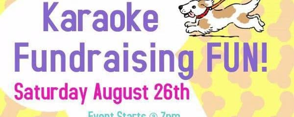 Come and sing your heart out all for the dogs at our karaoke fundraiser at J's Bar,