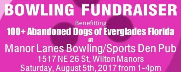 Bowling Fundraiser for the Dogs