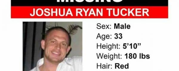 We are asking for your help … Joshua Tucker is missing!