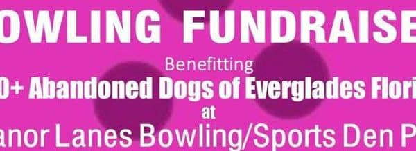 It's a bowling fundraiser at Manor Lanes Bowling/Sports Den Pub.
